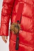 Оптом Куртка зимняя красного цвета 72169Kr в Екатеринбурге, фото 5