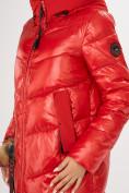 Оптом Куртка зимняя красного цвета 72169Kr в Екатеринбурге, фото 6
