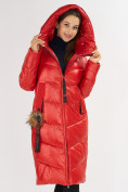 Оптом Куртка зимняя красного цвета 72169Kr в Екатеринбурге, фото 7