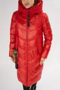 Оптом Куртка зимняя красного цвета 72169Kr в Екатеринбурге, фото 8