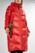 Оптом Куртка зимняя красного цвета 72169Kr в Екатеринбурге, фото 10