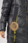 Оптом Куртка зимняя темно-серого цвета 72169TC в Екатеринбурге, фото 7