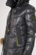 Оптом Куртка зимняя темно-серого цвета 72169TC в Екатеринбурге, фото 8