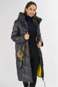 Оптом Куртка зимняя темно-серого цвета 72169TC в Екатеринбурге, фото 10