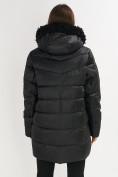 Оптом Куртка зимняя big size черного цвета 72180Ch в Екатеринбурге, фото 6