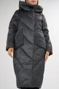 Оптом Куртка зимняя болотного цвета 72185Bt в Екатеринбурге, фото 10