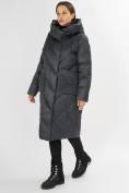 Оптом Куртка зимняя болотного цвета 72185Bt в Екатеринбурге, фото 2