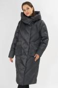 Оптом Куртка зимняя болотного цвета 72185Bt в Екатеринбурге, фото 5