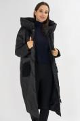 Оптом Куртка зимняя черного цвета 72185Ch в Екатеринбурге, фото 12