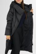 Оптом Куртка зимняя черного цвета 72185Ch в Екатеринбурге, фото 13