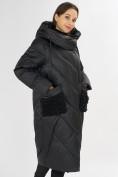Оптом Куртка зимняя черного цвета 72185Ch в Екатеринбурге, фото 6
