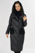 Оптом Куртка зимняя черного цвета 72185Ch в Екатеринбурге, фото 7