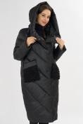Оптом Куртка зимняя черного цвета 72185Ch в Екатеринбурге, фото 8