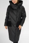 Оптом Куртка зимняя черного цвета 72185Ch в Екатеринбурге, фото 9