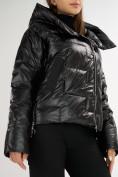 Оптом Куртка зимняя черного цвета 7223Ch в Екатеринбурге, фото 10
