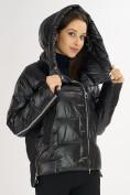 Оптом Куртка зимняя черного цвета 7223Ch в Екатеринбурге, фото 11