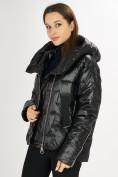 Оптом Куртка зимняя черного цвета 7223Ch в Екатеринбурге, фото 12