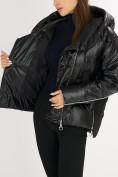 Оптом Куртка зимняя черного цвета 7223Ch в Екатеринбурге, фото 13
