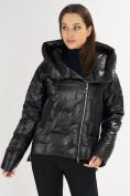 Оптом Куртка зимняя черного цвета 7223Ch в Екатеринбурге, фото 6