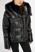 Оптом Куртка зимняя черного цвета 7223Ch в Екатеринбурге, фото 7