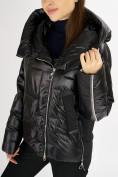 Оптом Куртка зимняя черного цвета 7223Ch в Екатеринбурге, фото 8