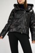 Оптом Куртка зимняя черного цвета 7223Ch в Екатеринбурге, фото 9