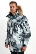 Оптом Mолодежная зимняя куртка мужская серого цвета 737Sr в Екатеринбурге, фото 10