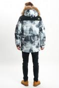 Оптом Mолодежная зимняя куртка мужская серого цвета 737Sr в Екатеринбурге, фото 7