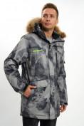 Оптом Mолодежная зимняя куртка мужская темно-серого цвета 737TC в Екатеринбурге, фото 10