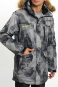 Оптом Mолодежная зимняя куртка мужская темно-серого цвета 737TC в Екатеринбурге, фото 11