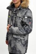Оптом Mолодежная зимняя куртка мужская темно-серого цвета 737TC в Екатеринбурге, фото 12
