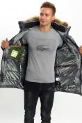 Оптом Mолодежная зимняя куртка мужская темно-серого цвета 737TC в Екатеринбурге, фото 13