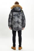 Оптом Mолодежная зимняя куртка мужская темно-серого цвета 737TC в Екатеринбурге, фото 6