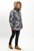 Оптом Mолодежная зимняя куртка мужская темно-серого цвета 737TC в Екатеринбурге, фото 5