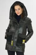 Оптом Куртка зимняя болотного цвета 7389Bt в Екатеринбурге, фото 10