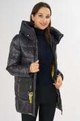 Оптом Куртка зимняя темно-серого цвета 7389TC в Екатеринбурге, фото 16