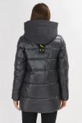 Оптом Куртка зимняя темно-серого цвета 7389TC в Екатеринбурге, фото 11