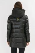 Оптом Куртка зимняя болотного цвета 7501Bt в Екатеринбурге, фото 13