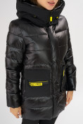 Оптом Куртка зимняя черного цвета 7501Ch в Екатеринбурге, фото 12