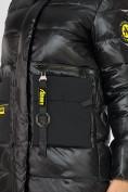 Оптом Куртка зимняя черного цвета 7501Ch в Екатеринбурге, фото 17