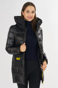 Оптом Куртка зимняя черного цвета 7501Ch в Екатеринбурге, фото 18