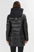 Оптом Куртка зимняя черного цвета 7501Ch в Екатеринбурге, фото 4
