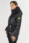Оптом Куртка зимняя черного цвета 7501Ch в Екатеринбурге, фото 8