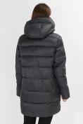Оптом Куртка зимняя big size темно-серого цвета 7519TC в Екатеринбурге, фото 5
