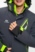 Оптом Горнолыжная куртка мужская темно-серого цвета 77010TC в Екатеринбурге, фото 6