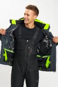 Оптом Горнолыжная куртка мужская зеленого цвета 77013Z в Екатеринбурге, фото 8
