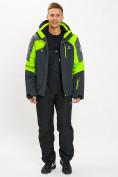 Оптом Горнолыжная куртка мужская зеленого цвета 77013Z в Екатеринбурге, фото 9