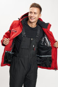 Оптом Горнолыжная куртка мужская красного цвета 77014Kr в Екатеринбурге, фото 10