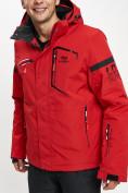 Оптом Горнолыжная куртка мужская красного цвета 77014Kr в Екатеринбурге, фото 6