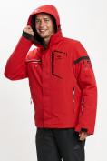 Оптом Горнолыжная куртка мужская красного цвета 77014Kr в Екатеринбурге, фото 8